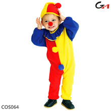 hot selling warm kids children boys clown cosplay Halloween Costume