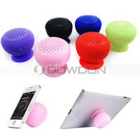 140mm 3W Bass Support Card Cute Silicone Sucker Wireless Mini Speaker