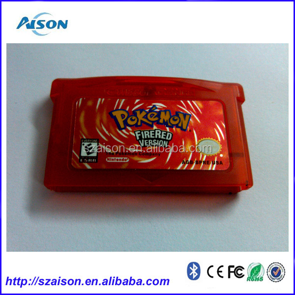 <strong>DHL</strong> Free Shipping for Good sellers- POKEMON games for GBA Cartridges