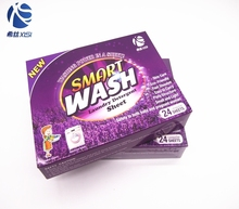 Washing powder detergent paper soap laundry clean detergent tablets with low price