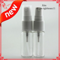 empty High quality pet bottle with pump sprayer plastic perfume bottle PET Bottle with sprayer