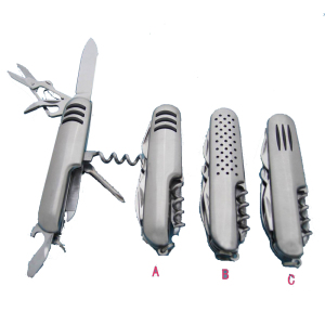High quality stainless steel multi tool army pocket knife