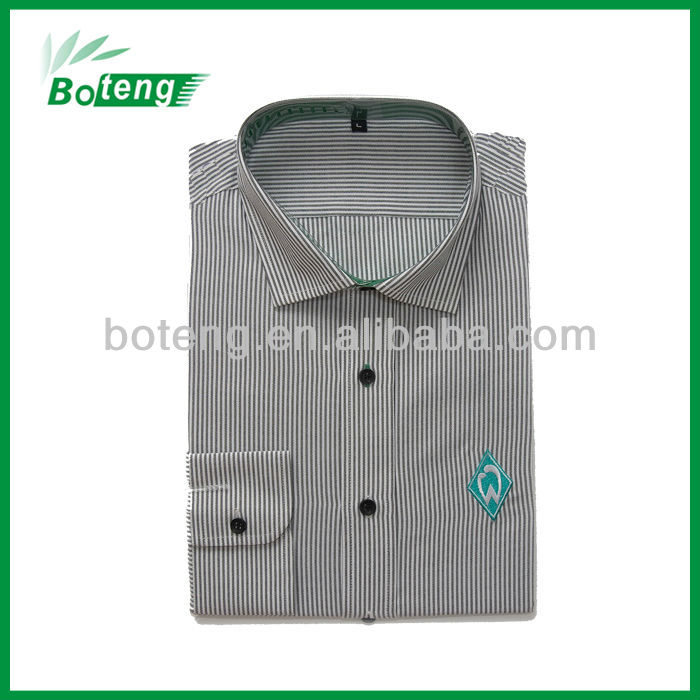 long sleeve stripe man shirt