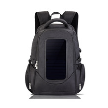 2017 Best selling Solar Backpack bag With Strong Power Bank Wholesale price waterproof solar backpack custom charging backpack