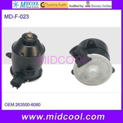 High Quality auto radiator fan motor for Toyota OEM 263500-6080