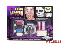 Halloween Carnival Fancy Dress Party Makeup Kits Body Face Paint Painting
