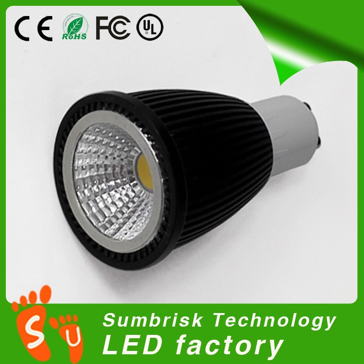 Factory supply diameter 63mm gu10 6w par20 led spot light