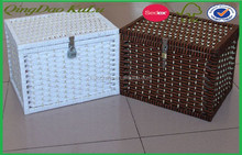 rattan stocked storage box rattan storage boxes with lids rattan cool storage box