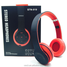 2017 Computer accessories high quality stereo headphone wireless bluetooth