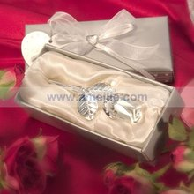 AC010 Wholesale Rose Design Crystal Flower pretty wedding gift for client