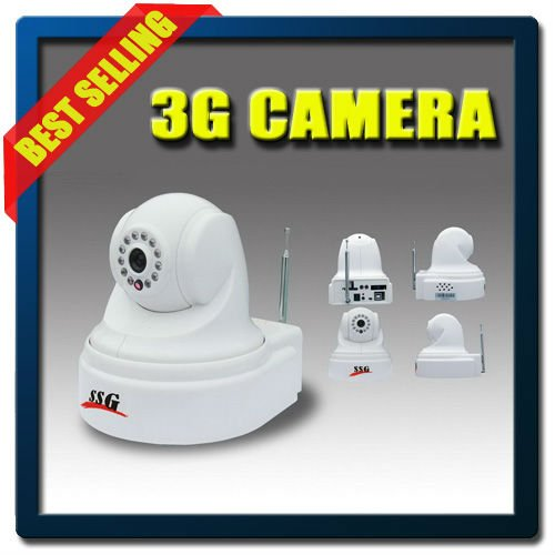 Wireless Retail Security Burglar 3G Video Monitor Alarm with Auto Dial, Dual Talk, and SMS/MMS