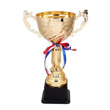 Hot Selling custom design collectible soccer figure trophy high-grade metal award cups trophies