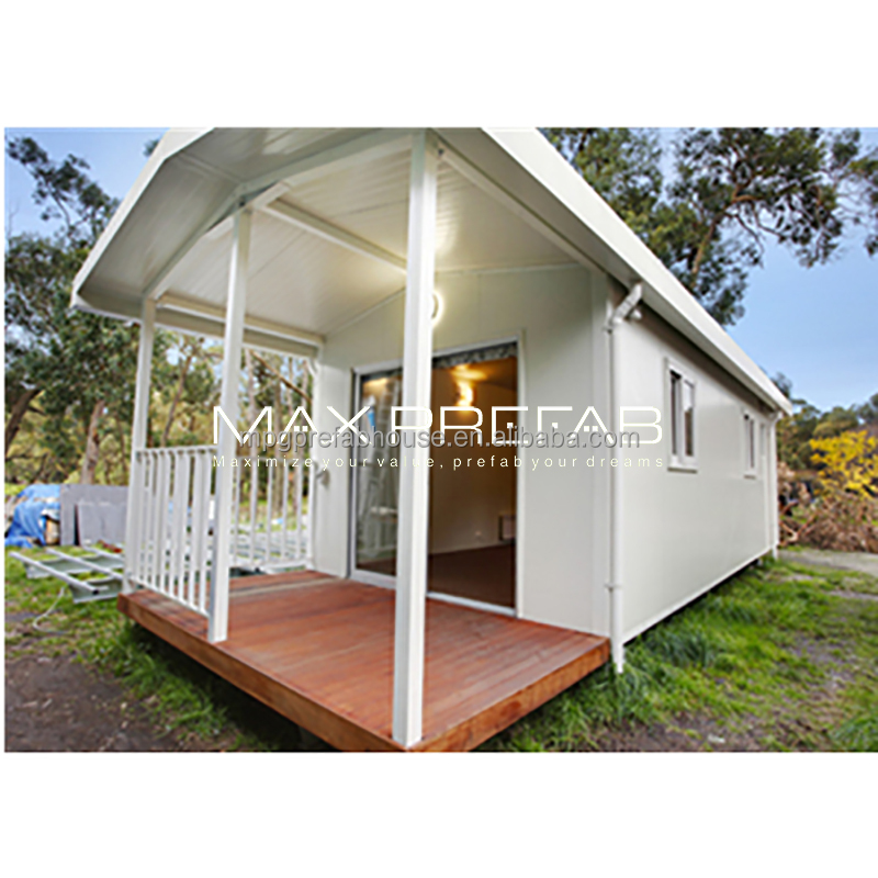 Easy Assemble Luxury Modern Design Low Cost Steel Structure Prefab Beach Houses