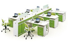Popular Used Office Desk Cell Phone Repair Workstations for 6 Person (SZ-WS907)