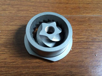 custom coffee burr grinder, cnc machined coffee machine parts, coffee machine parts