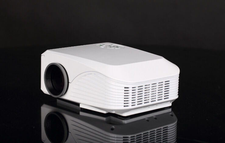 2016 Wholesale 1000 Lumens Mini HD LED Android English Smart Projector HX888 Pico Multi-functional Projector TV Sale