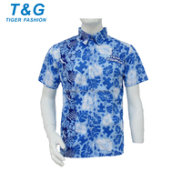 Leisure wear mens sublimation polo jerseys