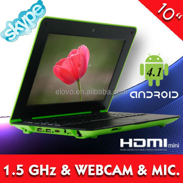 laptops on sale buy laptop in italy 10 inch android 4.1 VIA8850 laptop computer sale