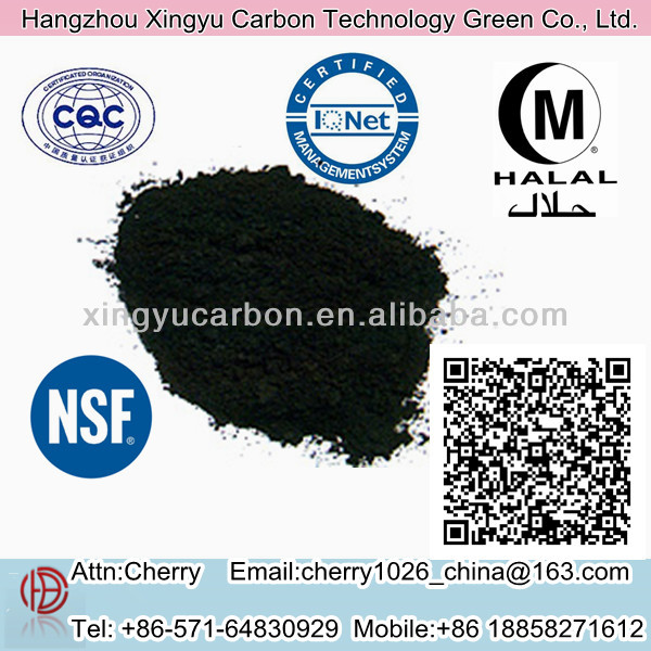 Activated Charcoal Manufacturer 100% Caramel Adsorption