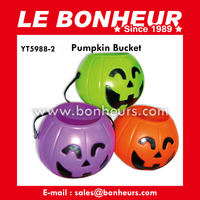 New Novelty Toy Colorful Halloween Pumpkin Bucket