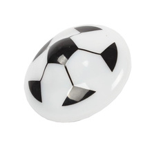 LED Flashing light and music plastic football mini spinning top toy