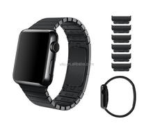 High quality Detachable stainless steel link bracelet strap for apple watch