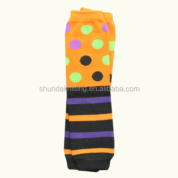 Halloween Leg Warmers Knitting Baby Leg Warmers For Kids