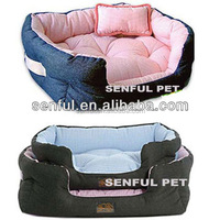 Demin luxury pet bed dog bed