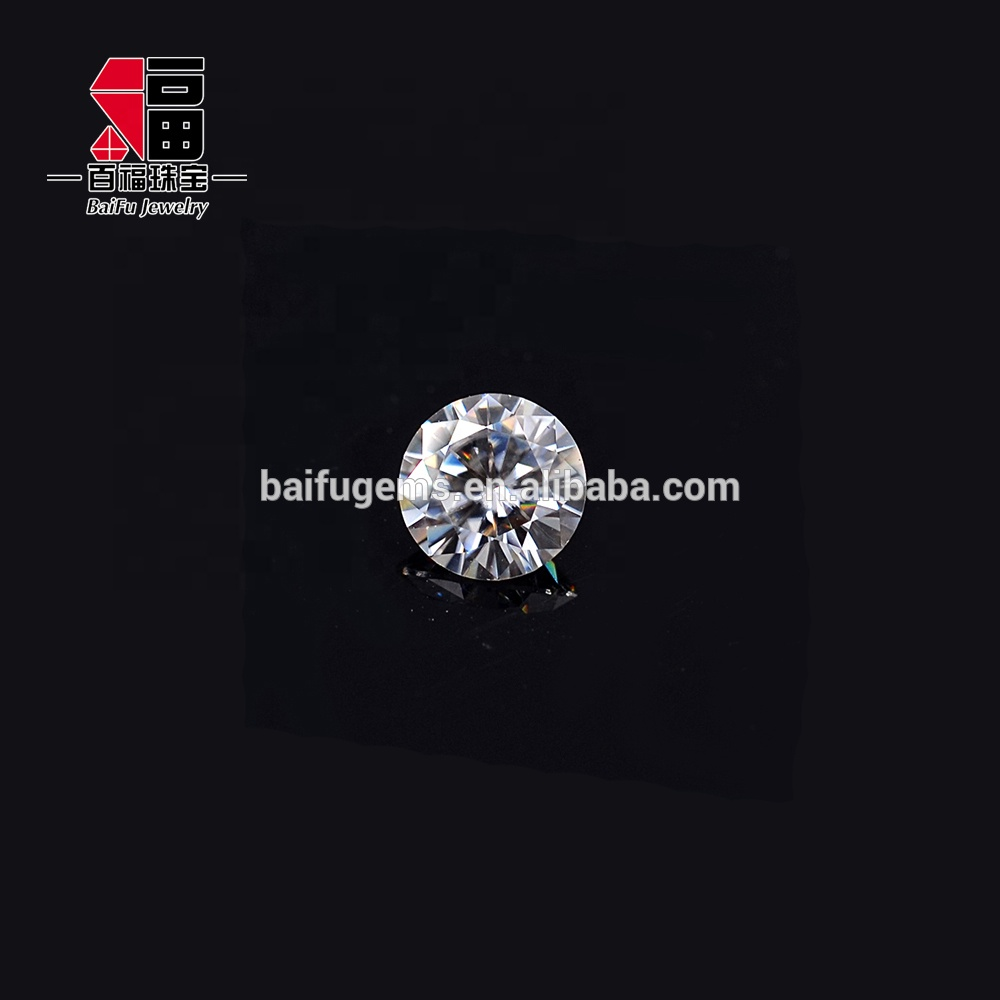 Synthetic <strong>Diamond</strong> F Color 7mm 1.2ct Round Machine Cut Jewelry Stone Moissanite