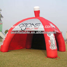 High quality&multifunction red inflatable advertising tent price