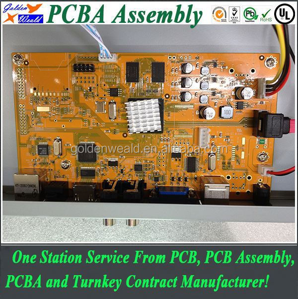 smd led circuit board for led pcba range hood pcba