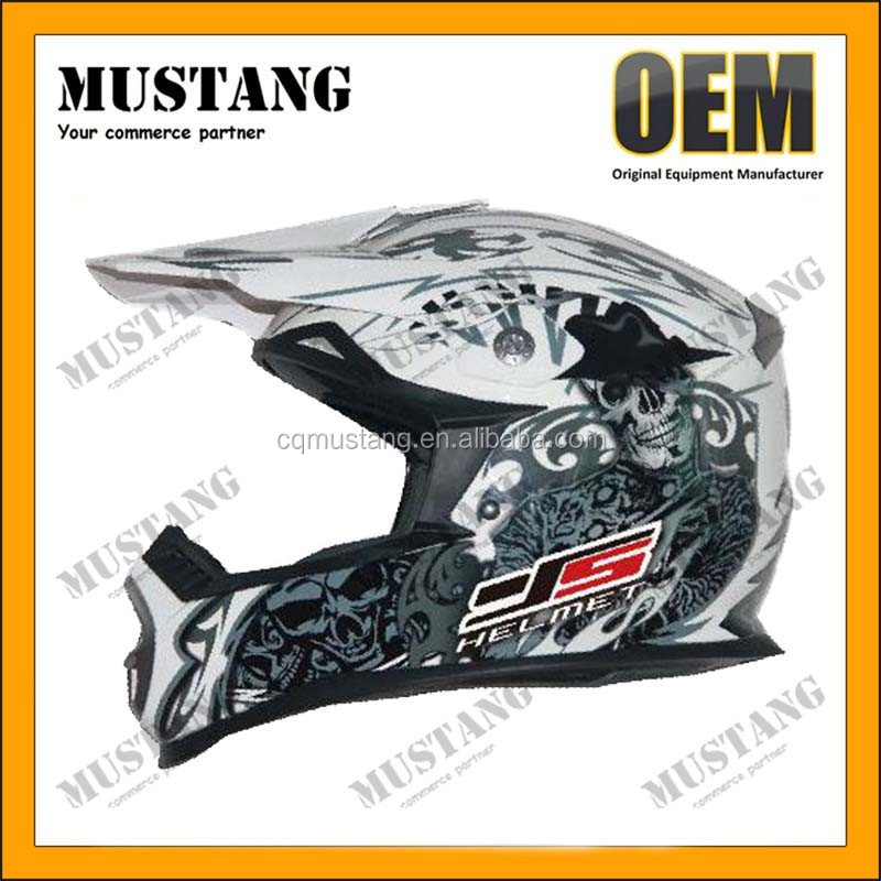 Newest high quality open face motocross helmet