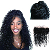 Lace Frontal Closure for full head Spanish curly 100% virgin Remy Peruvian human hair weaving