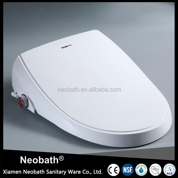 Water Heating electronic automatic toilet seat cover bidet
