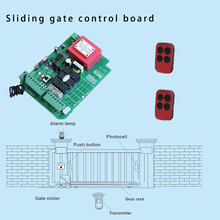 433mhz Relay display controller board for sliding gate opener