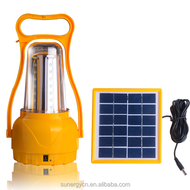 Sungery Rechargeable Battery Power <strong>Source</strong> and Lanterns camping solar lights with phone charger
