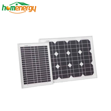 Bluesun mono 20w 30w solar cell small panel for portable set