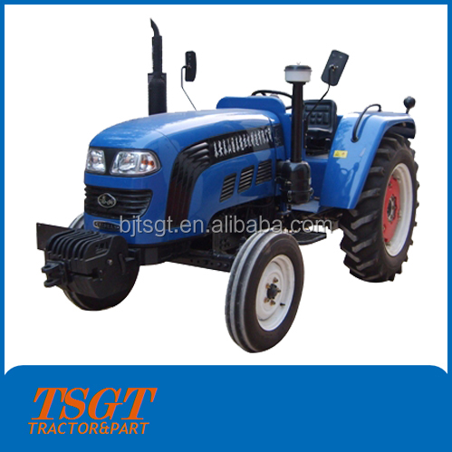 blue 50hp 2wd and 4wd farm wheel tractor with hydraulic steering system/three point linkage
