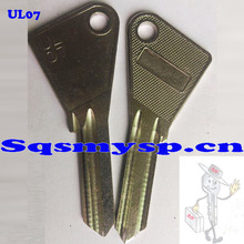 G170 Best Nickel painted Blank door keys UL07