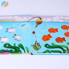Lead Free Eco Friendly Custom Children Board Book Printing Service