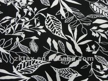 rayon spandex printed knited fabric