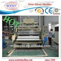 PE cast stretch film production line