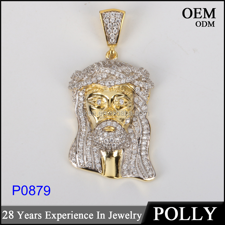 Hot selling Custom made 10k gold hip hop jewelry pendant diamonds charm jewelry