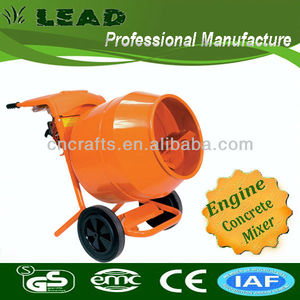 High quality mini concrete mixer pto cement mixer with Honda GX100motor X20-C