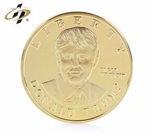 Factory direct custom old gold novelty plain coin