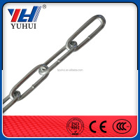 galvanized long link chain factory supply chain link on alibaba