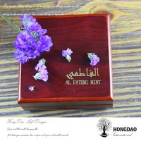 HONGDAO handmade upscale wooden jewelry box for watch