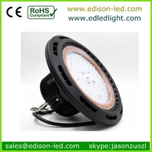 Outdoor industrial 200W UFO LED high bay light fittings replace 600w metal halide high bay