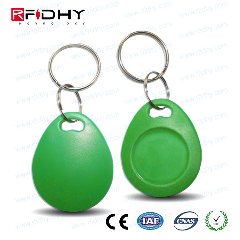 RFIDHY Keychain with Iron Ring NFC Key Fob