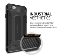[Armor Case] Armor soft TPU cell phone case shockproof protective cover case for iPhone 6
